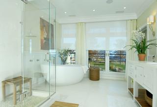地中海风格客厅3层别墅简洁卧室白色简欧风格装修效果图