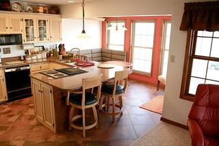 美式乡村风格卧室300平别墅实用米色装修效果图