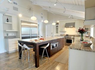 美式风格三层双拼别墅舒适白色室内装修效果图