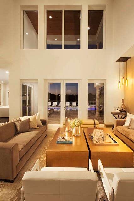 现代欧式风格一层别墅欧式奢华别墅欧式客厅装潢