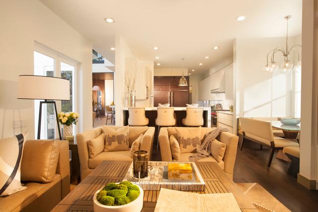 欧式风格客厅三层半别墅欧式奢华小客厅装修图片