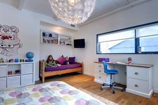 美式乡村风格卧室一层别墅舒适白色欧式装修效果图