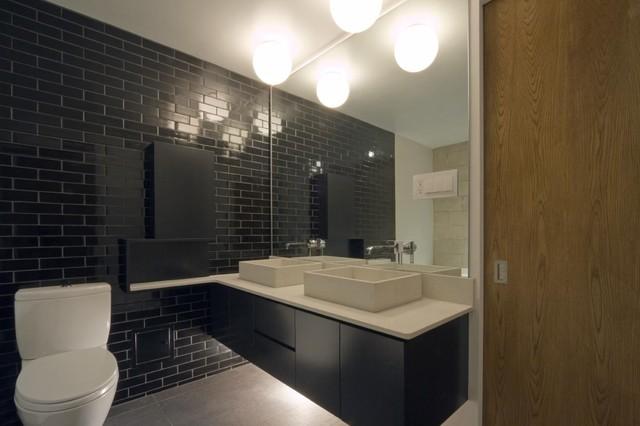 现代简约风格三层小别墅时尚家居3m卫生间装修图片图片