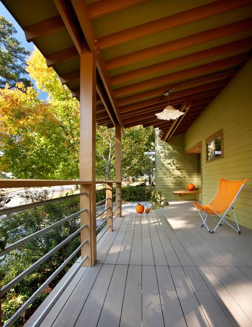田园风格卧室2层别墅艺术阳台护栏装修效果图