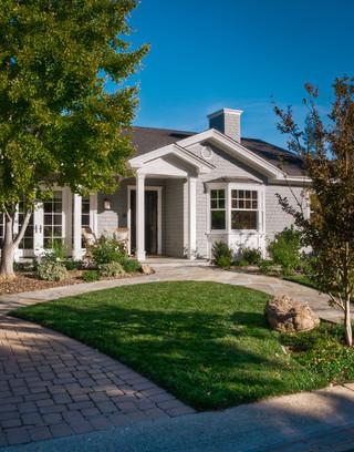 宜家风格三层小别墅舒适小庭院装修效果图