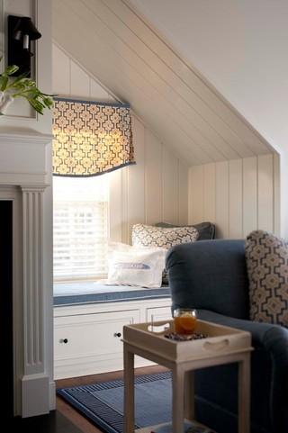 宜家风格一层半小别墅小清新10平米小卧室设计图