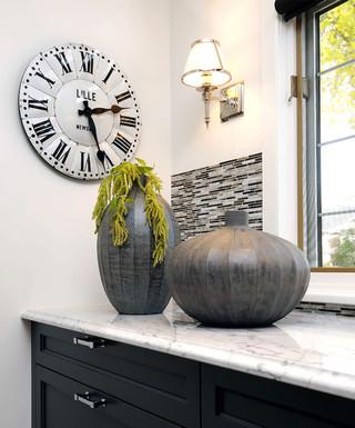 美式风格客厅一层半小别墅梦幻家具室内植物图片