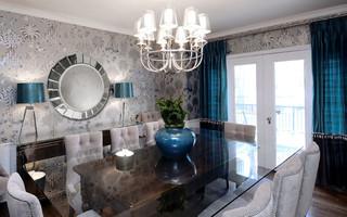 美式风格卧室2013别墅梦幻客厅水晶灯图片