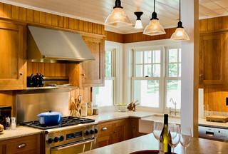 美式乡村风格三层独栋别墅温馨2013整体厨房装修效果图