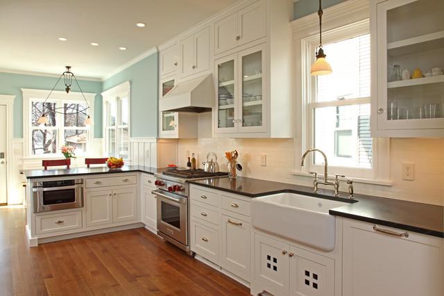 现代简约风格厨房2014年别墅唯美整体厨房颜色效果图