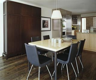 美式风格客厅三层平顶别墅简单温馨黑色设计图