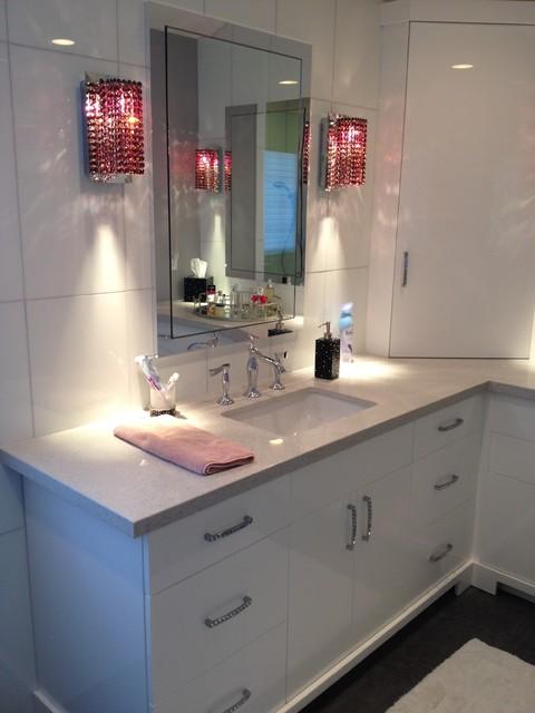 欧式风格客厅一层别墅简洁卧室白色家具装修效果图