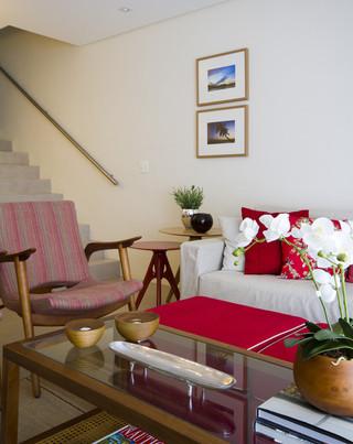 宜家风格三层连体别墅温馨装饰2013家装客厅装修效果图
