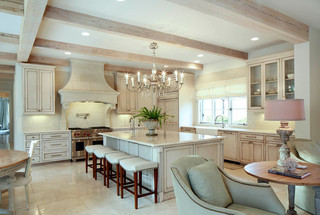 地中海风格室内三层别墅及豪华房子3平米厨房效果图
