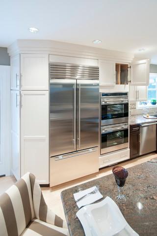 美式风格客厅2013年别墅豪华房子不锈钢橱柜效果图