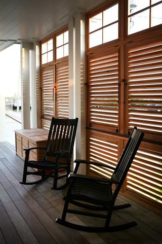 现代简约风格厨房一层别墅舒适玻璃阳光房设计图纸
