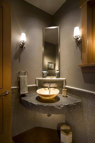 现代美式风格三层独栋别墅唯美 卫生间改造