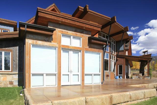 现代美式风格200平米别墅唯美门厅过道吊顶设计