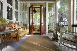 美式风格客厅三层别墅时尚卧室中式简约客厅效果图