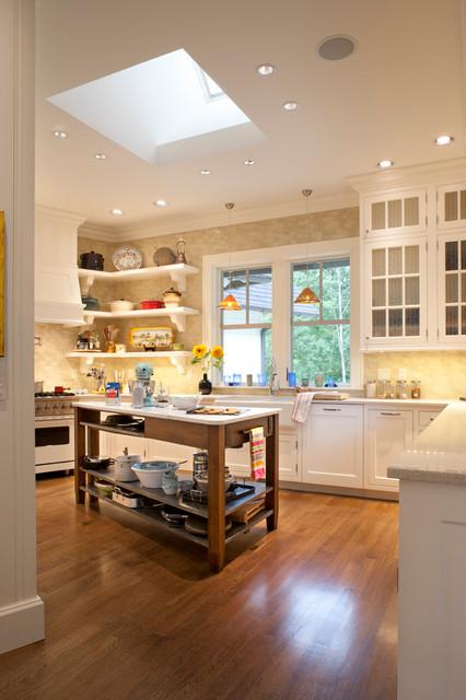 美式风格卧室一层半小别墅舒适白色家具效果图