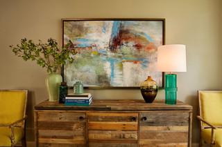美式风格300平别墅温馨客厅装修效果图