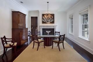 美式风格卧室三层连体别墅实用客厅米色效果图