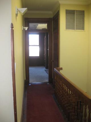 现代简约风格客厅三层别墅及实用客厅米黄色调墙壁装修效果图