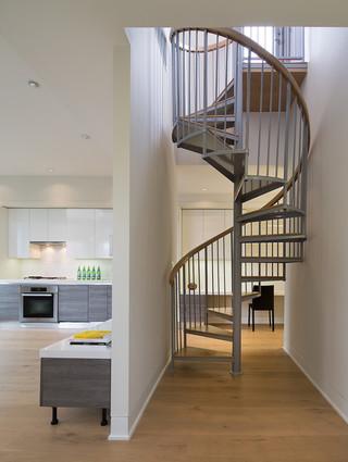 欧式风格客厅一层半别墅时尚家居装饰灰色窗帘效果图