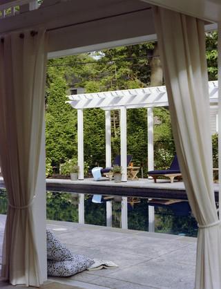现代欧式风格三层别墅浪漫卧室阳光房屋顶效果图