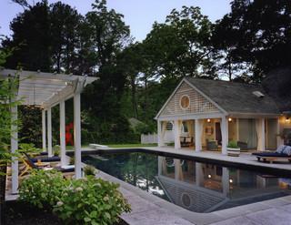 欧式风格三层半别墅浪漫婚房布置别墅游泳池装修图片