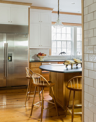 美式乡村风格卧室一层半别墅浪漫婚房布置别墅餐厅装修图片