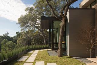美式风格卧室200平米别墅豪华室内庭院鱼池改造