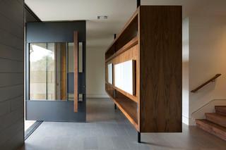 现代美式风格三层双拼别墅豪华房子2013玄关设计