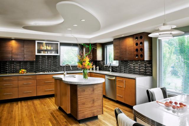 美式风格卧室2014年别墅唯美6平米厨房设计