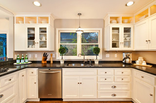欧式风格卧室一层别墅及现代简洁白色室内装修图片