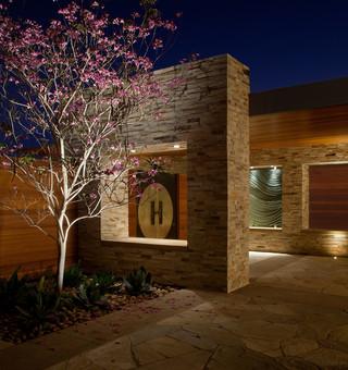 现代美式风格2014年别墅唯美家装过道效果图