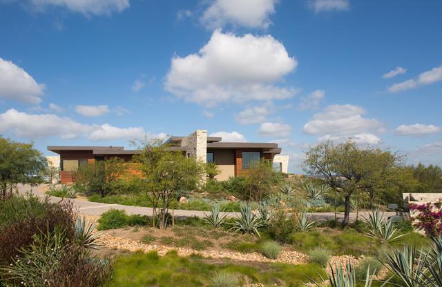 美式风格2014年别墅唯美家庭小花园装修图片