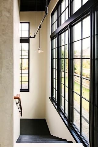新古典风格3层别墅大气阳台窗户图片