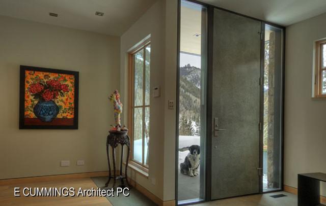 美式乡村风格客厅2013别墅舒适客厅玄关隔断改造高清图片