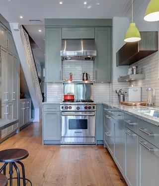 美式风格2013年别墅舒适2014整体厨房设计图纸
