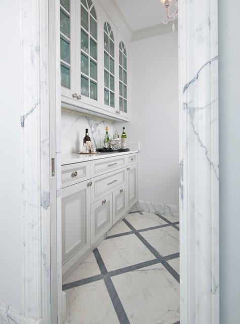 现代简约风格卧室2013别墅及唯美厨房隔断酒柜设计图