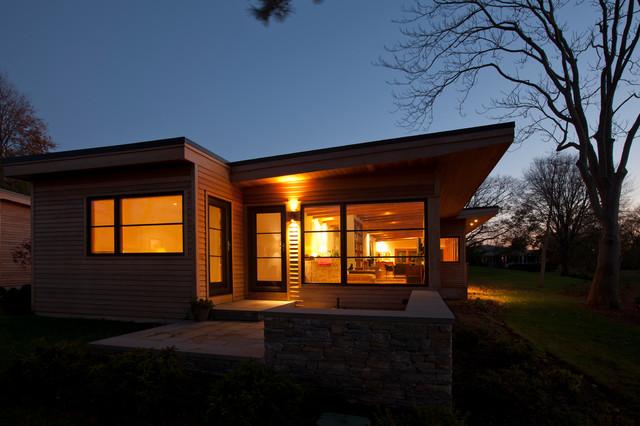 现代美式风格三层独栋别墅浪漫卧室庭院灯设计图
