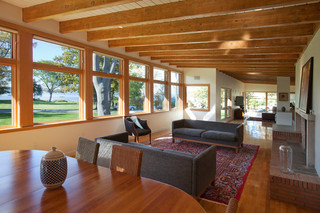 美式风格卧室三层连体别墅浪漫卧室2014客厅装修效果图