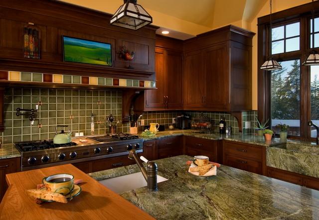 美式乡村风格卧室一层别墅及温馨卧室3平米厨房装修
