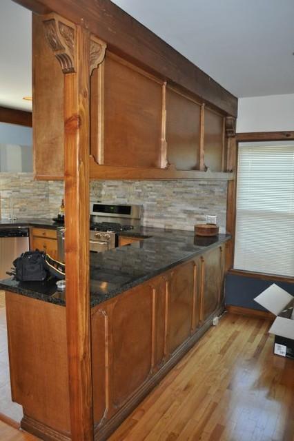 美式乡村风格卧室2013别墅及舒适2014整体厨房装修图片