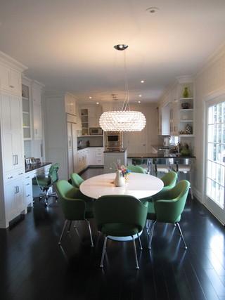宜家风格2层别墅小清新欧式餐厅吊顶设计图