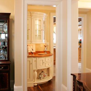 美式风格简洁卧室白色欧式家具装修图片