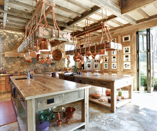 田园风格饭店三层小别墅浪漫卧室客厅餐厅吊顶装潢
