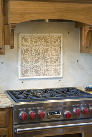 原木色的田园思念 加利福尼亚州经典田园厨房设计