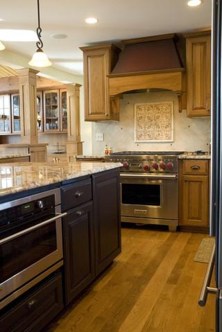 现代田园风格三层别墅温馨卧室整体厨房吊顶装潢